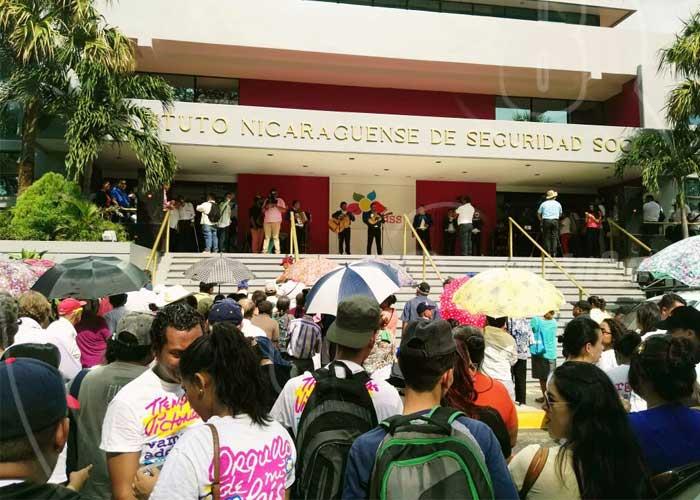 nicaragua, adulto mayor, inss, pension reducida, movilizacion,