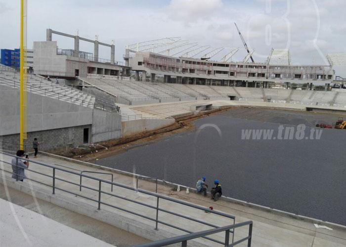 nicaragua, estadio nacional, beisbol, grama, cesped,