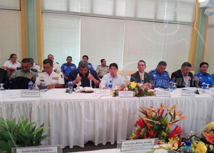 nicaragua, costa rica, relaciones bilaterales, encuentro, seguridad,