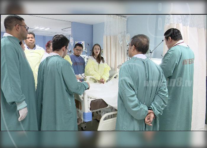 nicaragua, cirugias, jornada quirurgica, hospital lenin fonseca, dia del padre,