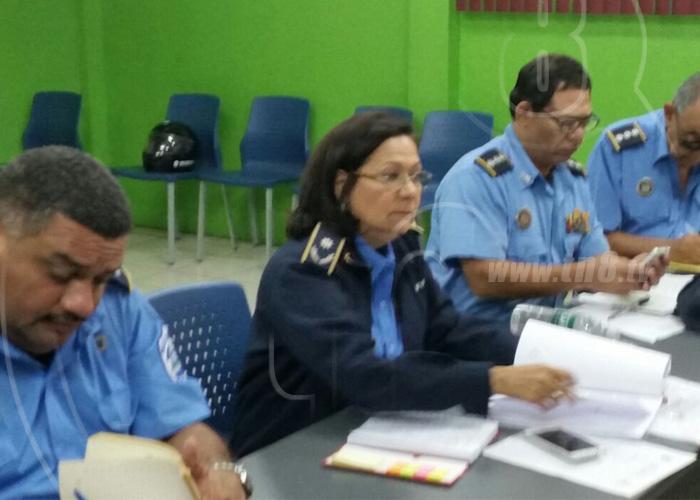 nicaragua, accidentes de transito, municipios, registro, policia nacional,