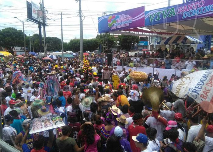nicaragua, managua, santo domingo de guzman, devocion, tradicion,