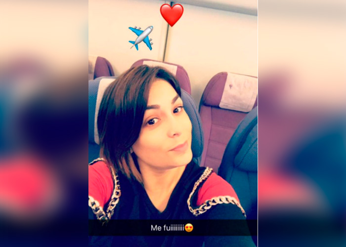 Evelyn Vela fue detenida en Estados Unidos con 20 mil dólares falsos