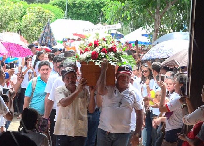 Fallece sacerdote Peguero de la Rosa — Chinandega