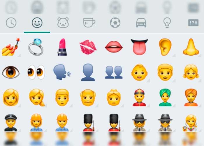 ¡SORPRESA! Estos son los nuevos emojis que presenta nuestro querido WhatsApp