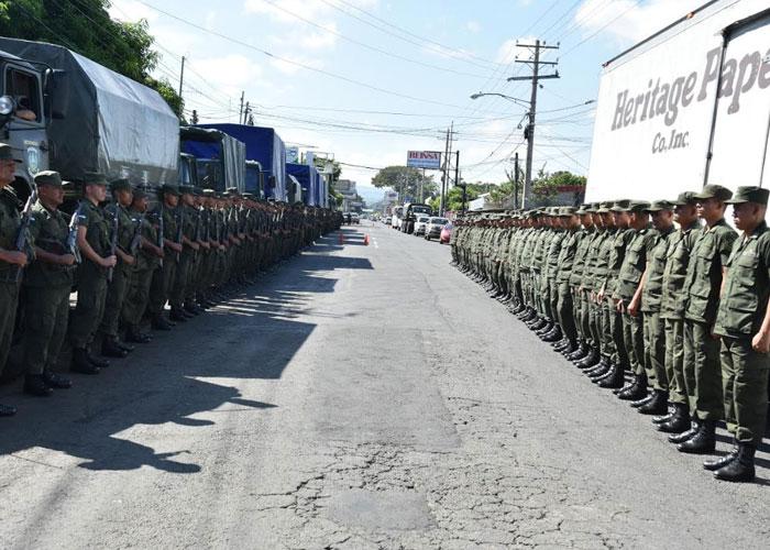 Trasladan valijas electorales a Managua y sus municipios
