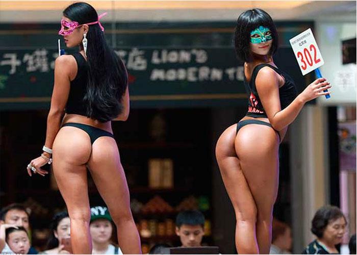 China Mujer Con El Trasero Más Hermoso Del Mundo No Puede