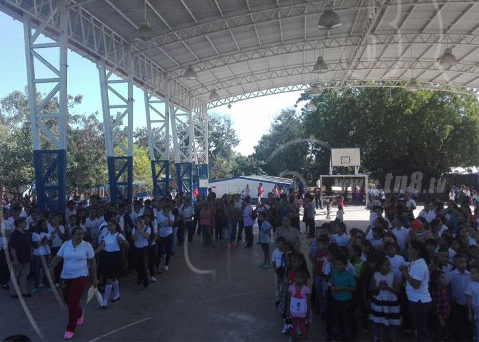 nicaragua, ano lectivo 2017, educacion, colegios publicos, cierre de ano escolar,