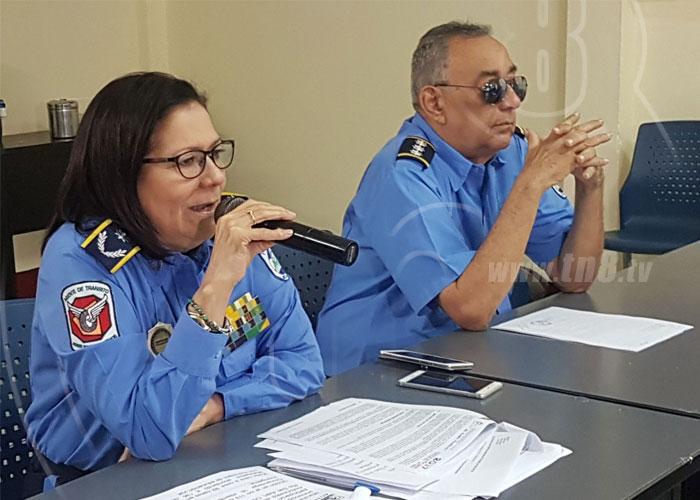 nicaragua, disminucion, accidentes de transito, diciembre, policia nacional,