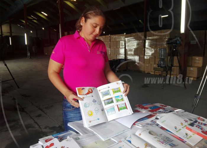 nicaragua, ingles, libros, ministerio de educacion, primaria,