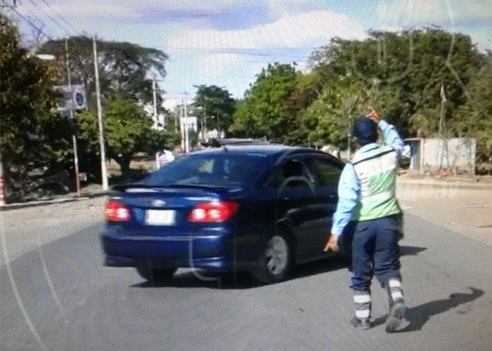 nicaragua, policia, transito, tipitapa, seguridad,