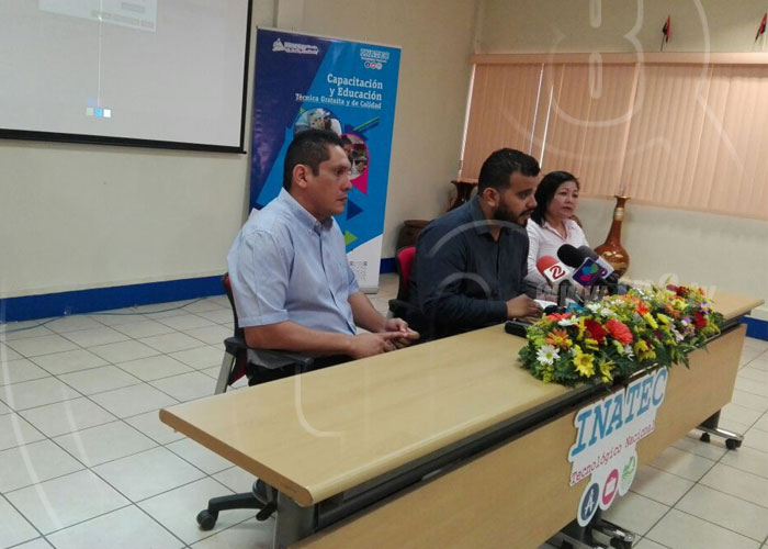 nicaragua, tecnologica nacional, capacitacion, carreras, educacion,