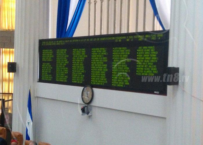 Aprueban reforma para prorrogar vigencia de cédulas vencidas en Nicaragua