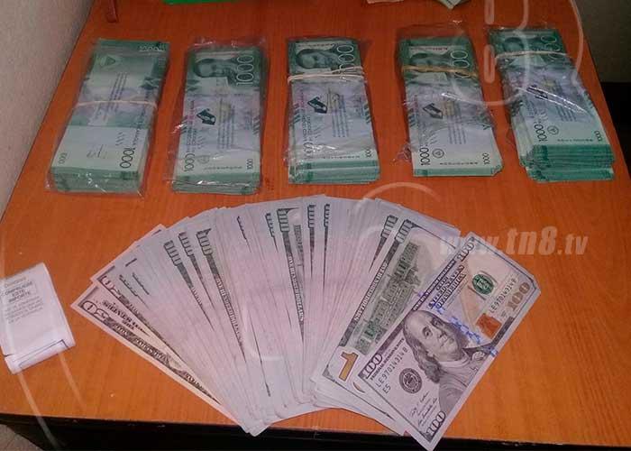 Nicaragua Hombres Roban Miles Cordobas Dolares Vestidos De Policia