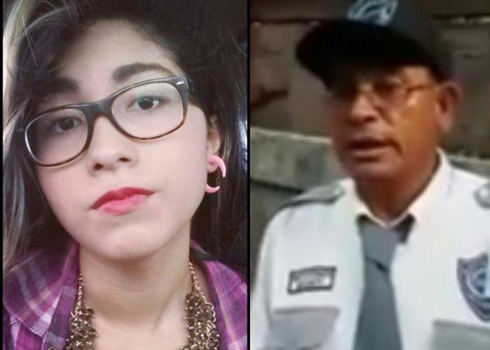 nicaragua, video viral, guarda de seguridad, adios, acoso,