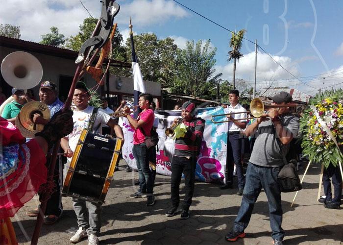 nicaragua, monimbo, gesta heroica, camilo ortega, revolucion sandinista, masaya, conmemoracion,
