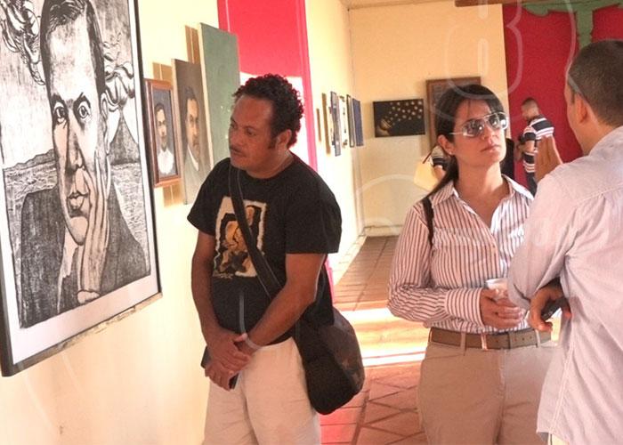 e65c2dd7bb6e Artistas nicaragüenses se inspiran en Rubén Darío para crear obras ...
