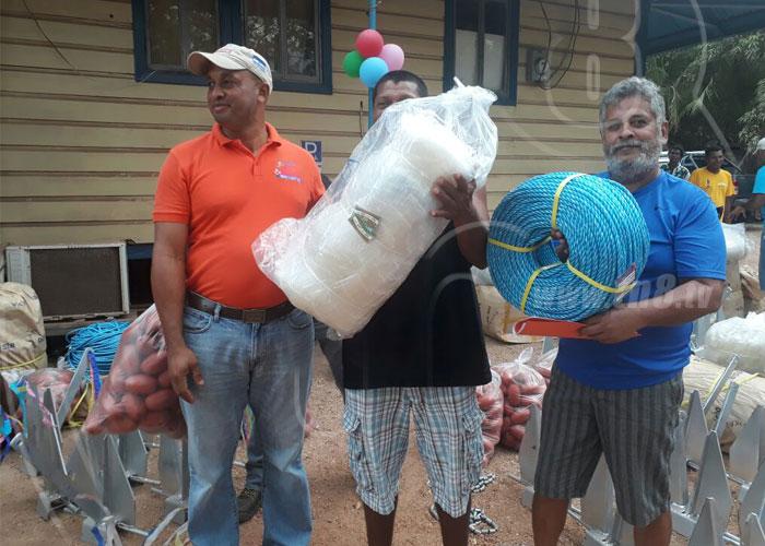 nicaragua, ministerio de economia familiar, puerto cabezas, materiales de pesca, caribe norte, pescadores,