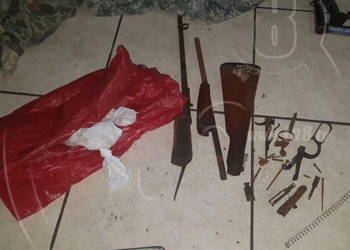 nicaragua, chontales, allanamiento, armas, terrorismo,
