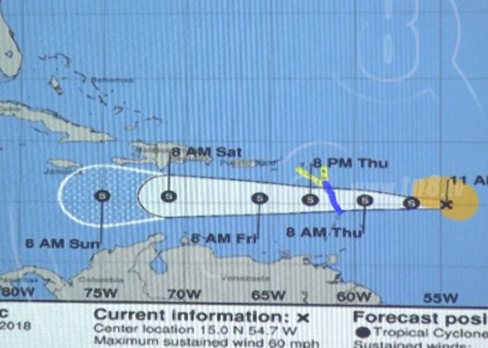 nicaragua, sinapred, tormenta tropical, isaac, pronostico, sinapred, clima, lluvias,