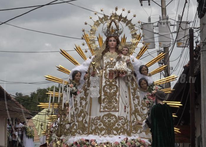 nicaragua, virgen, la merced, religion, devocion, leon, recorrido,