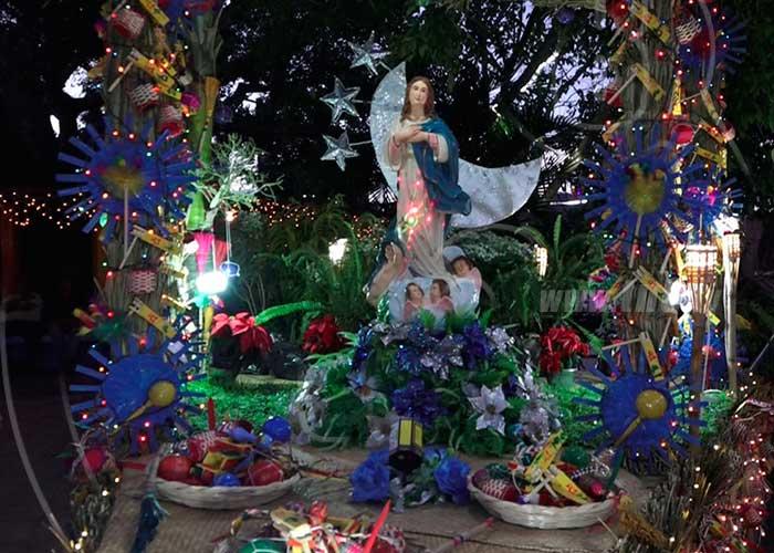 boaco, inauguracion, purisima, concepcion de maria, altar,