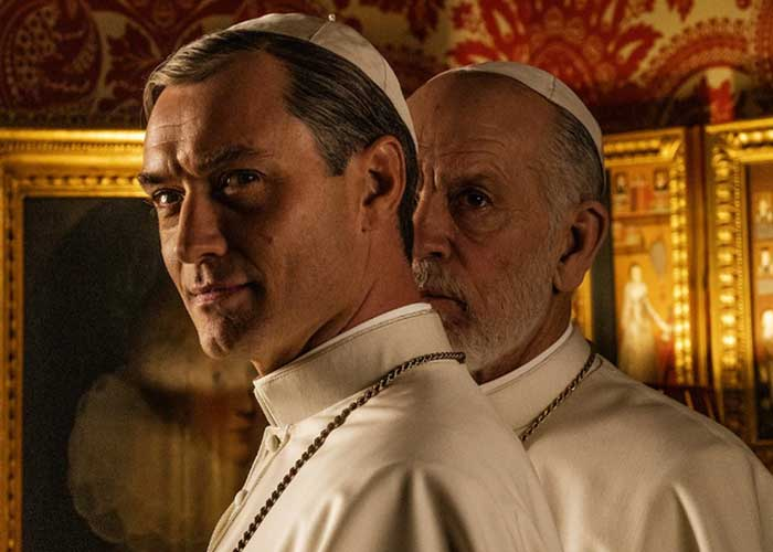 hbo, cine, jude law, the new pope,