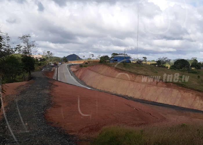 nicaragua, carretera, caribe sur, tramo, construccion, nueva guinea, bluefields,