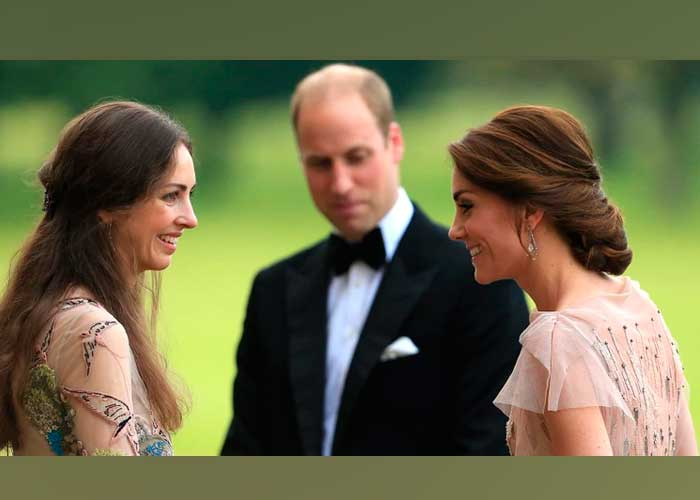 Príncipe William responde a rumores de infidelidad a Kate Middleton