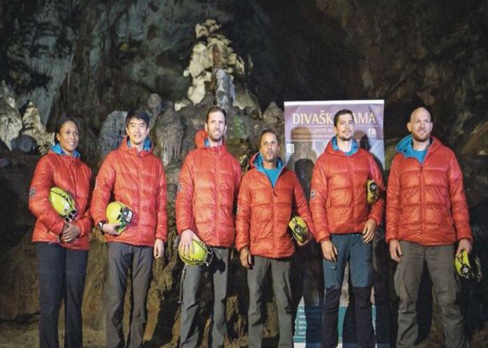 cuevanautas, science, caving, training, astronauts, slovenia