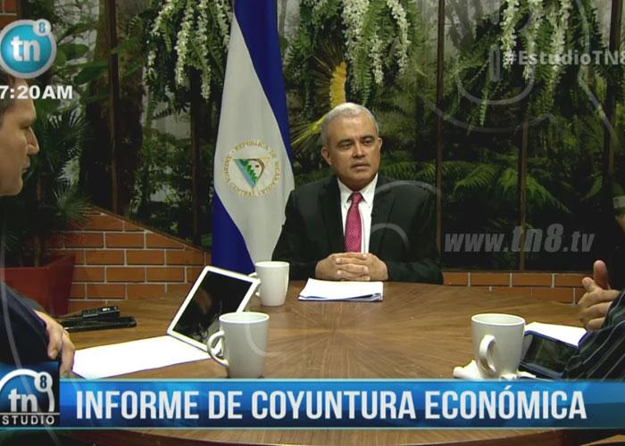 nicaragua, economia, informe, banco central, crecimiento,