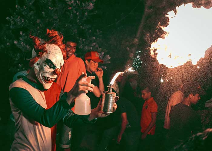 los agüizotes, nicaragua, octubre, monimbo, san jerónimo, vela del candil, tradición nicaragüense , disfraces, mitos y leyendas