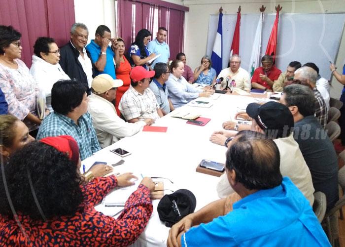 nicaragua, sindicato, revolucion, rechazo, golpe de estado, bolivia,