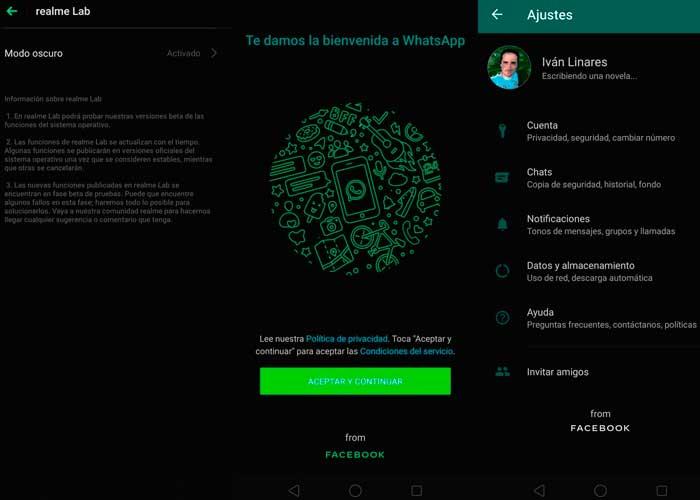 usuarios, app, modo oscuro, tecnologia, activacion, actualizacion, dispositivos