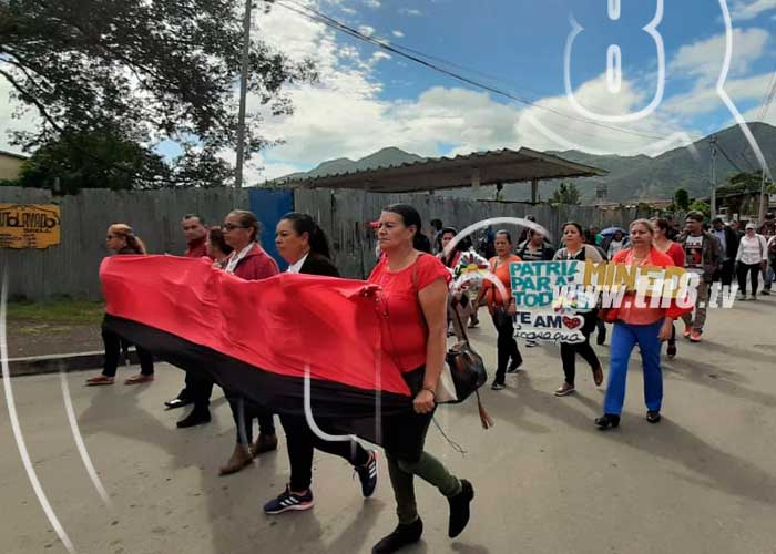 nicaragua, jinotega, mined, celebracion, 13 anos, educacion gratuita, daniel ortega,