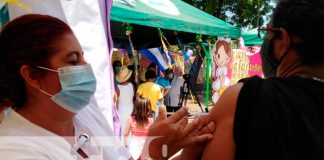 nicaragua, jornada de vacunacion, municipios, centros de salud, familias,