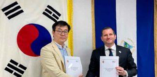 nicaragua, consejo coreano, embajador de nicaragua, reunion, apoyo