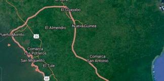 nicaragua, costa rica, policia nacional, captura, delincuente