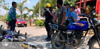nicaragua, jalapa, accidente de transito, lesionado,