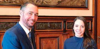 nicaragua, belgica, alcalde de namur, embajada, reunion