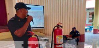 nicaragua, Masaya, bomberos, capacitación, estudiantes,