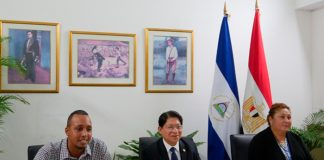 nicaragua, egipto, embajadores, presentacion, acreditacion,
