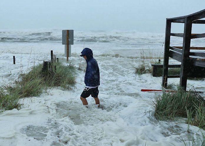 vientos del huracan michael