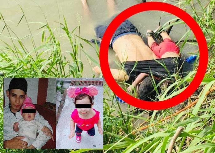 salvadoreno e hija ahogados