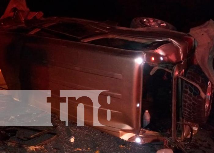nicaragua, rivas accidente de tránsito, personas lesionadas,