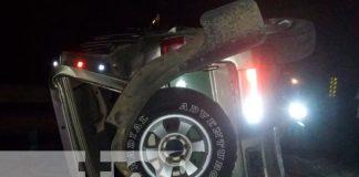 nicaragua, rivas, accidente de tránsito, personas lesionadas,