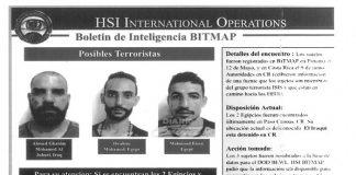 terroristas detenidos en costa rica