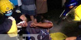 nicaragua, jalapa, accidente, lesionado,