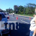 nicaragua, accidente, diriamba, taxi, camioneta,