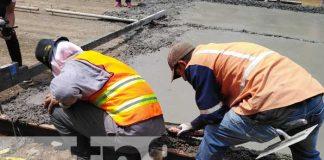 nicaragua, barrio oscar turcios, managua, reparacion, mejoramiento vial,